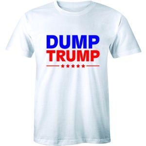 Dump Trump Muscle Shirt Poop Emoji T-shirt Tee
